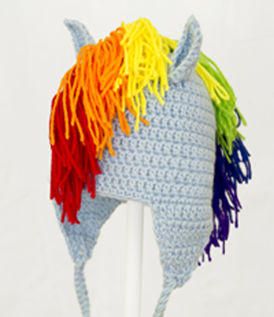 Dash Earflap Hat from My Little Pony