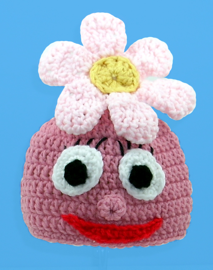 Foofy Pink Monster Hat