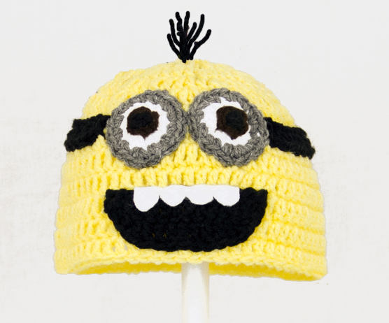 Minion Hat With Two Eyes from Despicable Me