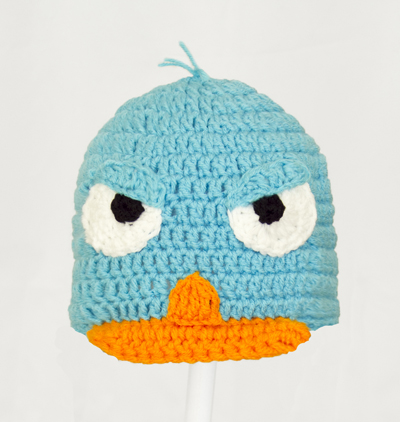 Angry Perry the Platypus Hat from Phineas and Ferb