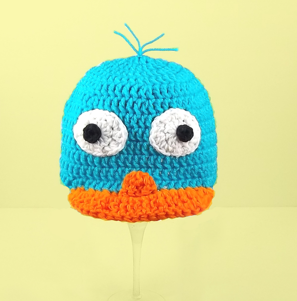Perry the Platypus Hat from Phineas and Ferb
