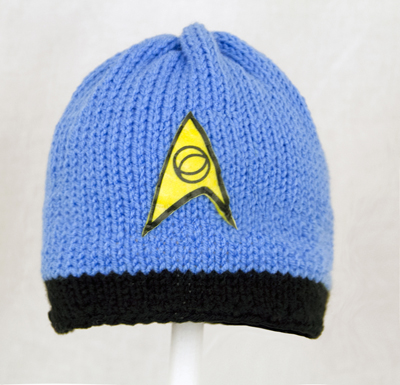 Star Trek Blue Hat