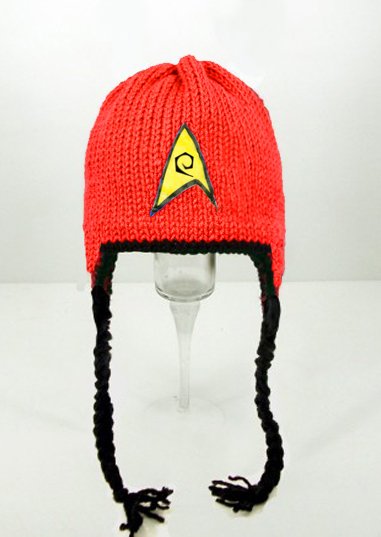 Star Trek Red Earflap Hat