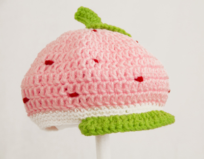 Strawberry Shortcake Newsboy Hat