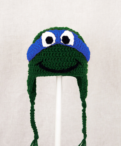Leonardo Earflap Hat from Teenage Mutant Ninja Turtles TMNT