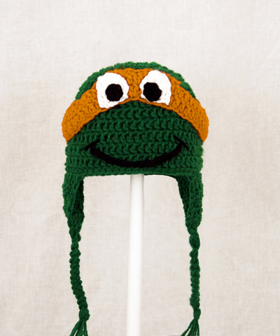 Michelangelo Earflap Hat from Teenage Mutant Ninja Turtles TMNT
