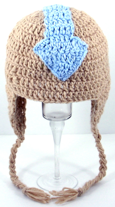 Aang Earflap Hat from Avatar the Last Airbender