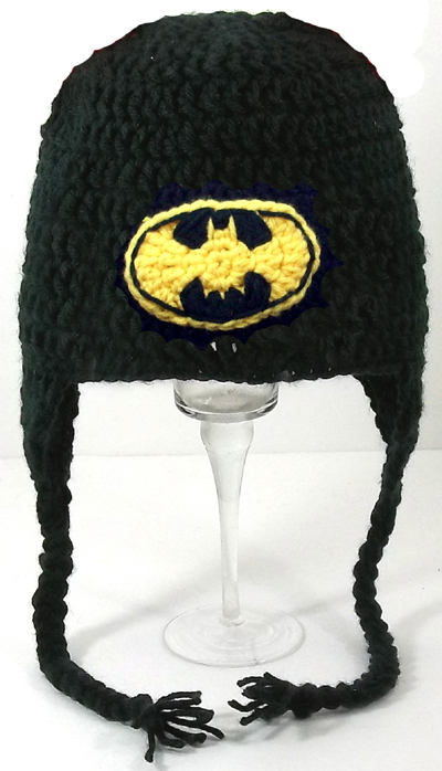 Batman Earflap Hat
