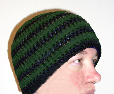 Crochet Beanie in Any Color (please email color choice)