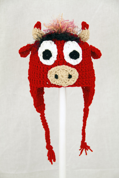 Benny the Bull Earflap Hat