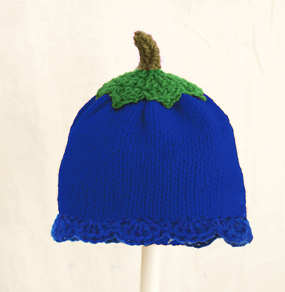 Blueberry Hat for Girls