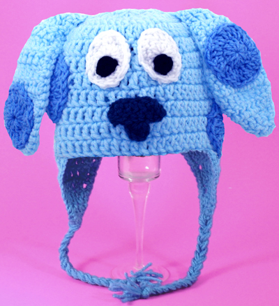 Blue's Clues Dog Earflap Hat