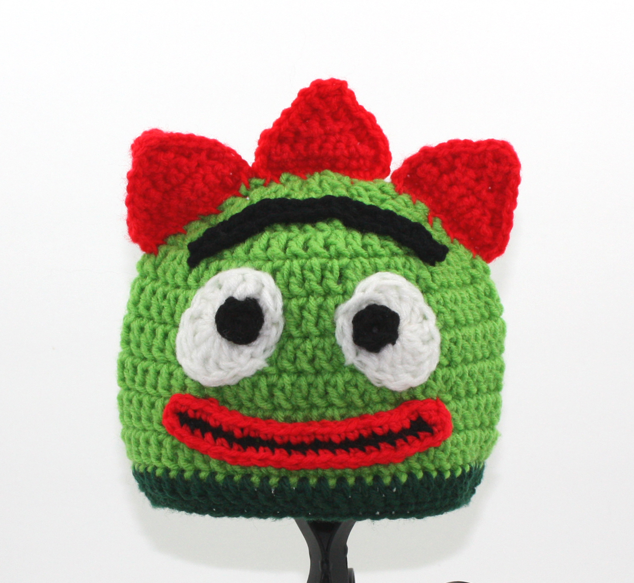 Green Monster Guy Hat