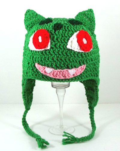 Bulbasaur Hat from Pokemon