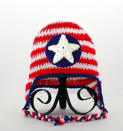 Captain America Earflap Hat