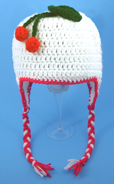Cherry Earflap Hat