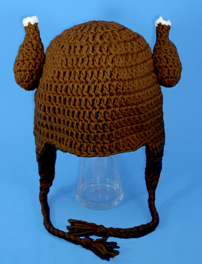 Thanksgiving Jive Turkey Earflap hat