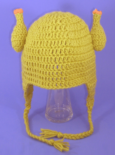 Rubber Chicken Earflap Hat