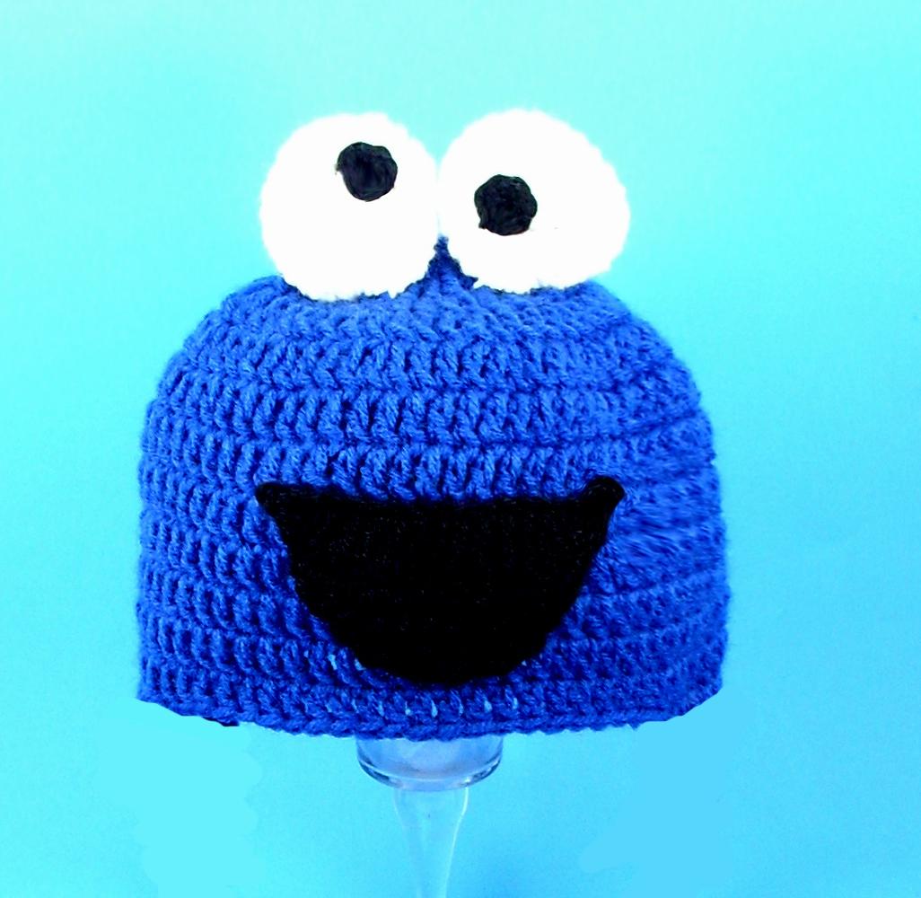 Cookie Monster Hat from Sesame Street - $25.00 : CUTIEHATS, custom hats