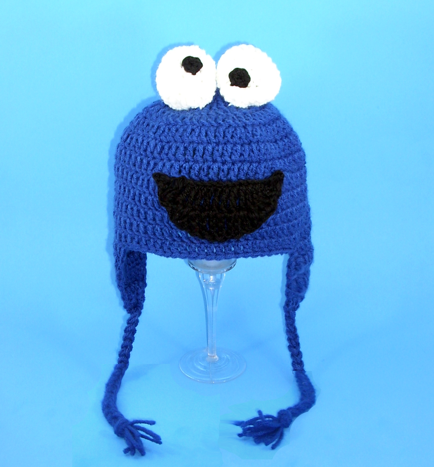 Cookie Monster Earflap Hat from Sesame Street
