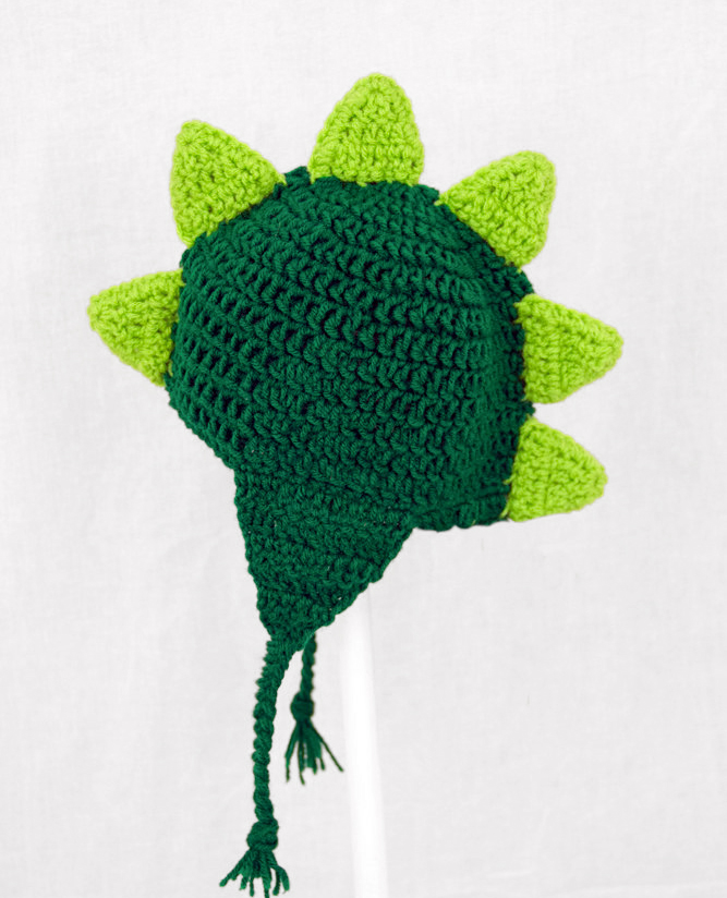 Dinosaur Earflap Hat in Any Color