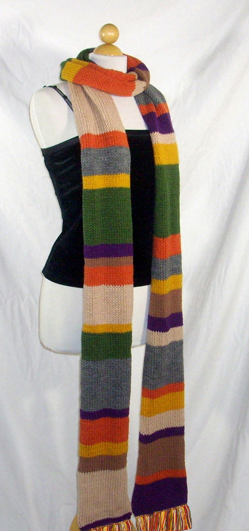 Doctor Who 10 ft Scarf