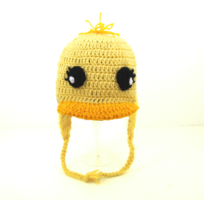 Duck / Chick Earflap Hat