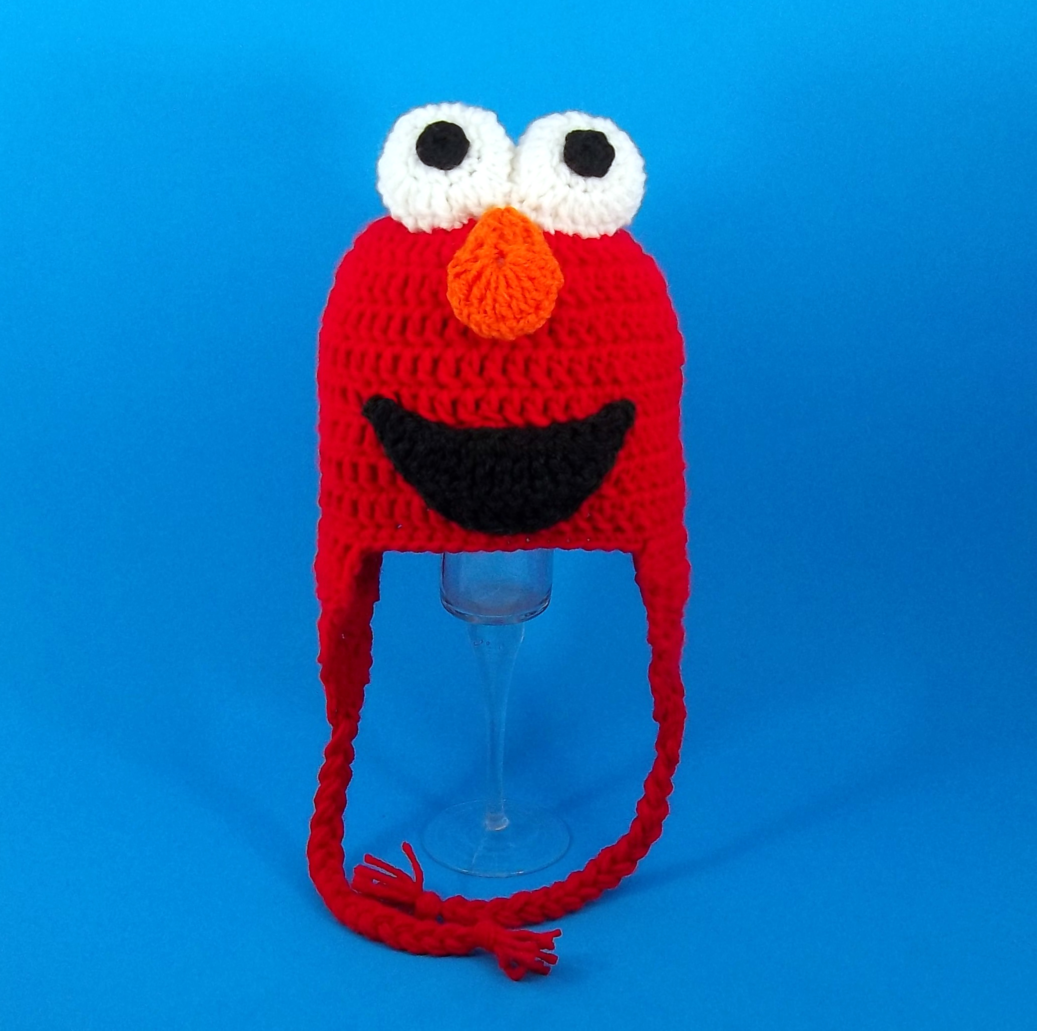 Elmo Monster Earflap Hat from Sesame Street