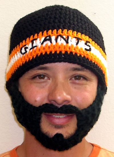 Fear the Beard Hat for San Francisco Giants Fans Brian Wilson