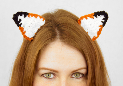 Fox Ear Hair Clips