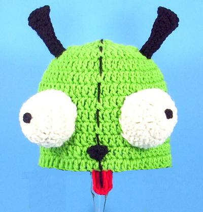 Gir Hat From Invader Zim 2500 Cutiehats Custom Hats