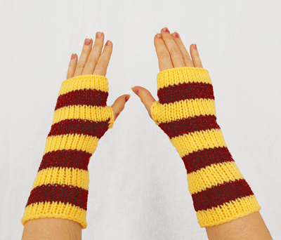 Harry Potter Gryffindor Fingerless Gloves