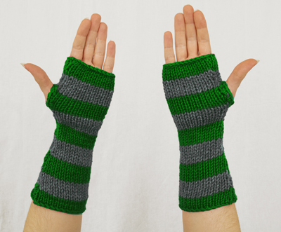 Harry Potter Slytherin Fingerless Gloves