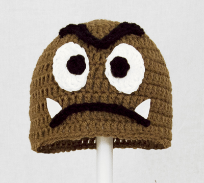Goomba Hat from Super Mario Brothers