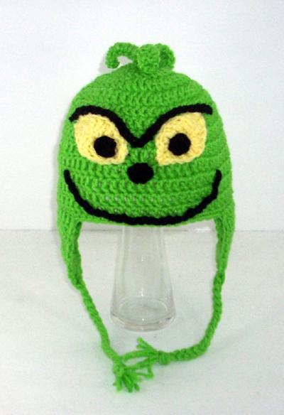 Grinch Earflap Hat from How the Grinch Stole Christmas