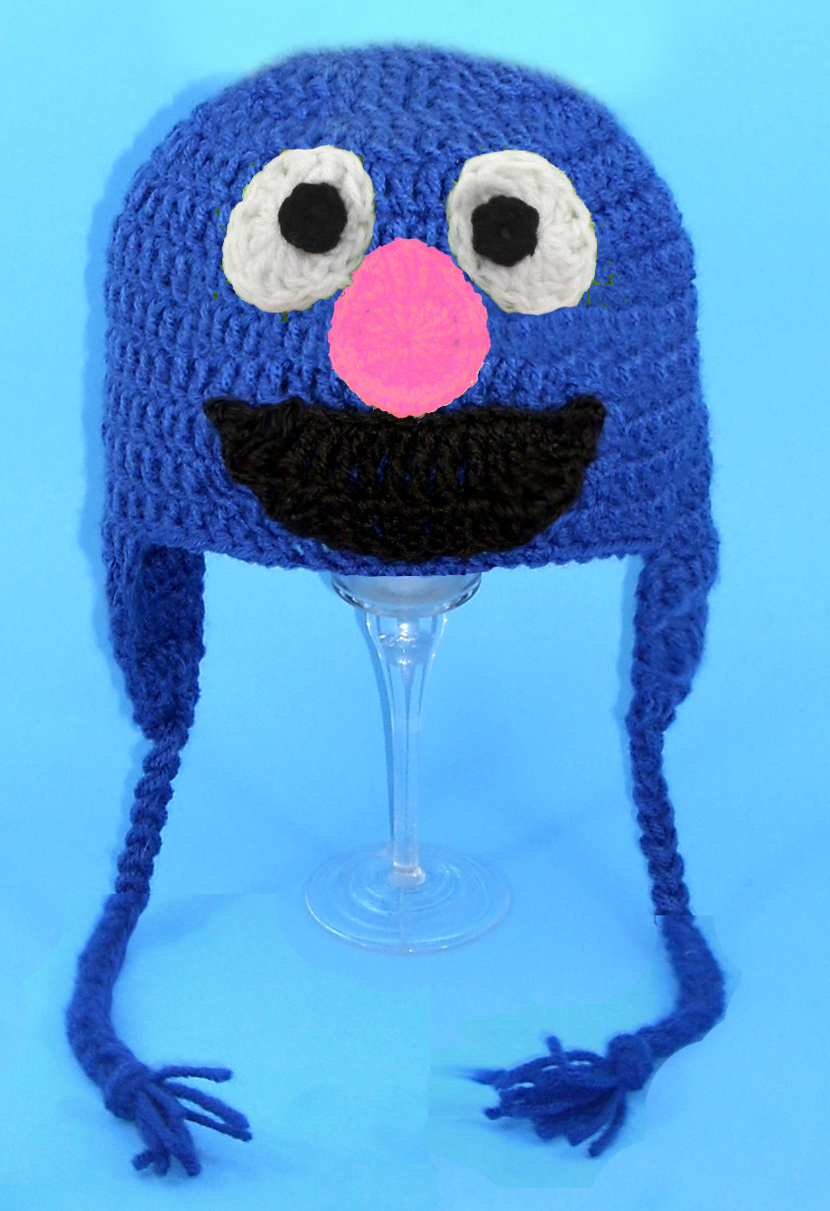 Grover Monster Earflap Hat from Sesame Street