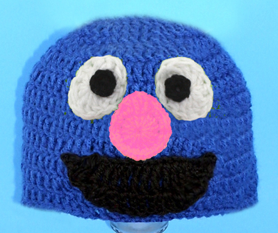 Grover Monster Hat from Sesame Street