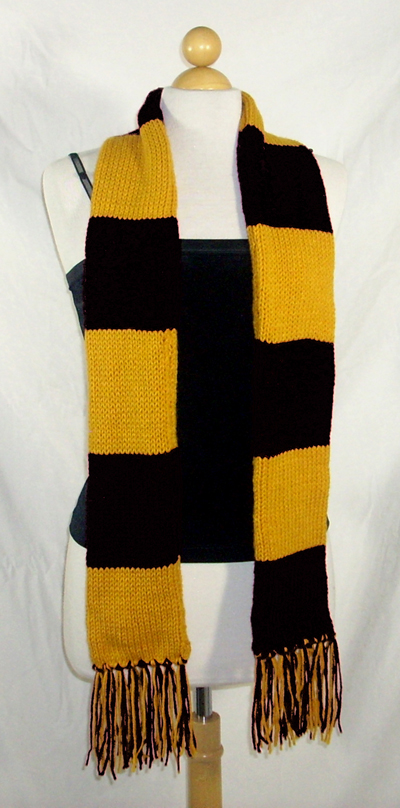 Harry Potter Hufflepuff Scarf 6ft