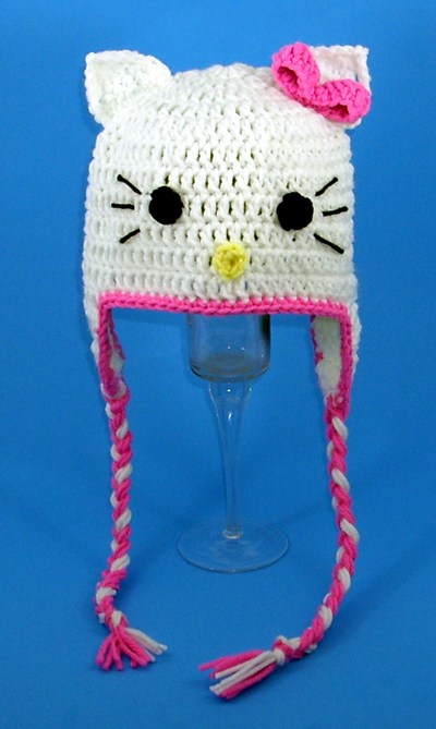 Hello Kitty Earflap Hat