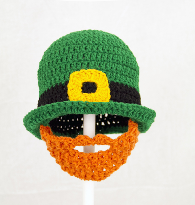 St. Patrick's Day Beard Hat / Derby