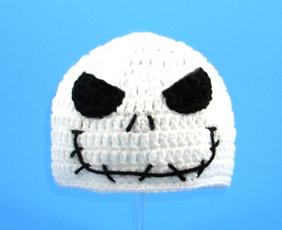 Angry Jack Skellington Hat from The Nightmare Before Christmas