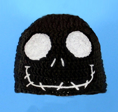 Jack Skellington in Black Hat from Nightmare Before Christmas