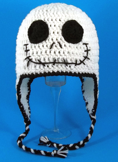 Jack Skellington Earflap Hat from The Nightmare Before Christmas
