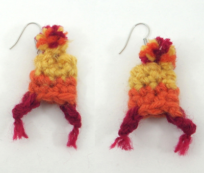 Jayne Hat Earrings from Firefly / Serenity