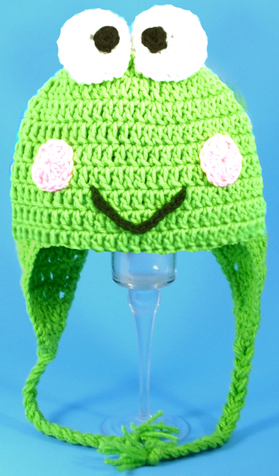 Keroppi Earflap Hat from Hello Kitty