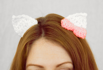 Kitty Anime Hair Clips larger image