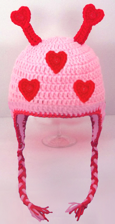 Lovebug Earflap Hat