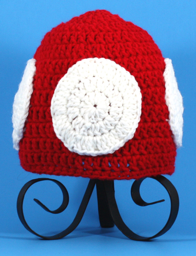 Toadee Mushroom Hat from Super Mario Brothers
