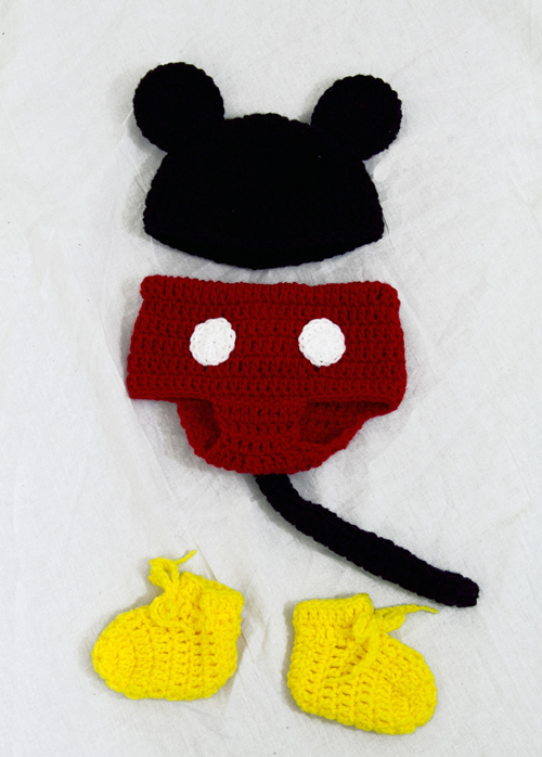 Mickey Mouse Baby Costume - Click Image to Close