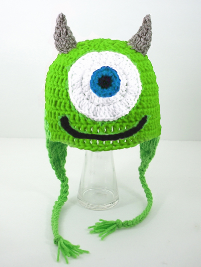 Mike Wasowski Earflap Hat from Monsters Inc.